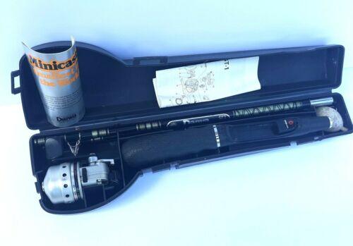Vintage Daiwa Minicast System MC-1 Reel & Rod & Hard Case Made in Japan