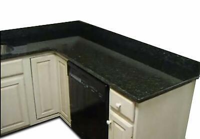 No Paint! EZ FAUX DECOR Black Granite Marble Look Effect Vinyl Film Self Adhe...](Faux Marble Contact Paper)