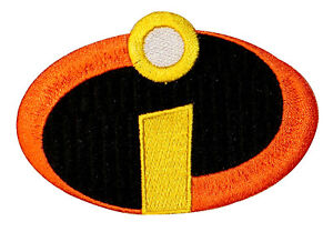 Disney-The-Incredibles-Logo-Costume-Embroidered-Iron-On-Licensed-Applique-Patch