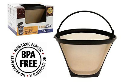 Reusable 4 Cone Coffee Filter for Ninja Coffee Bar Brewer Easy to Clean USA NEW
