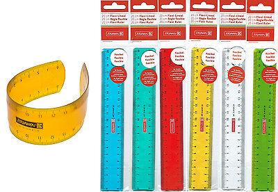 BRUNNEN - Lineal Flexi/Flexibel 20cm - transparent - bruchsicher - neu/OVP