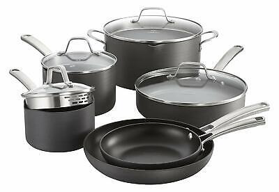 Calphalon Classic 10-pc. Hard-Anodized Aluminum Nonstick Cookware Set Aluminum Anodized Cookware