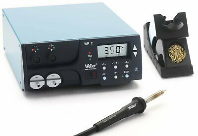 Weller Wr2000 - Two Channel Digital Rework Station 300 Watt With Hap1 Hot Air