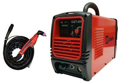 Plasma Cutter Simadre 50 Amp 110220v 12 Clean Cut Easy 50rx 60a Torch