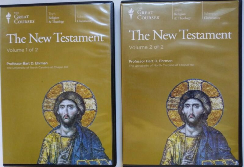 The New Testament: The Great Courses, 12 Audio CDs, 24 Lectures. Free Shipping