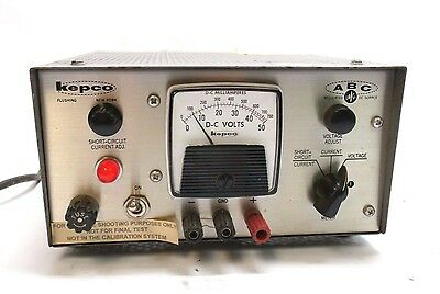 Kepco Abc 40-0.5-m Regulated Dc Power Supply