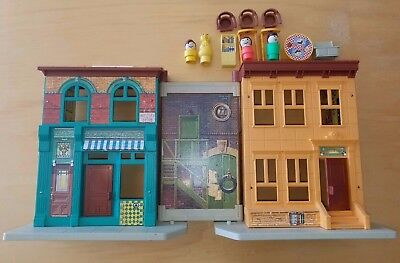 Vintage Fisher Price Little People Family Sesame Street House