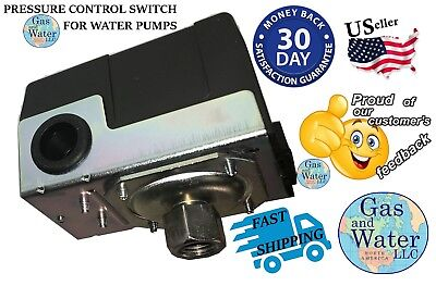 Well Water Pump Pressure Control Switch Universal Replacement 40-60 Psi Gw Ws546