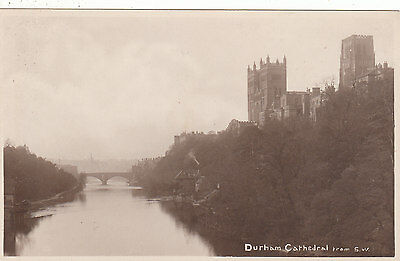 Cathedral & River Wear From South West, DURHAM, County Durham RP