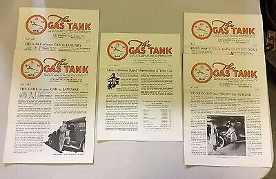 Texaco The Gas Tank Newsletter 1925 1926 Lycoming Gas & Oil Co. Williamsport, PA