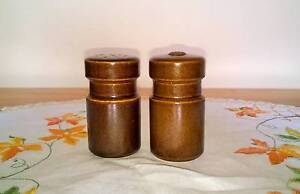 Vintage Ceramic Salt and Pepper Shakers Golden Grove Tea Tree Gully Area Preview