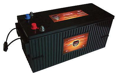 VMAX XTR4D-200 12V 200ah AGM Deep Cycle Marine Battery for b