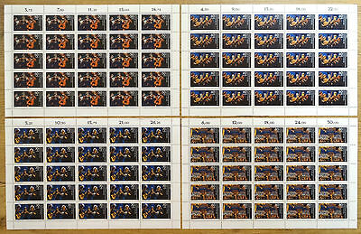 Berlin 807 - 810 postfrisch Bogen Bogensatz Jugend musiziert Michel 212,50 Euro