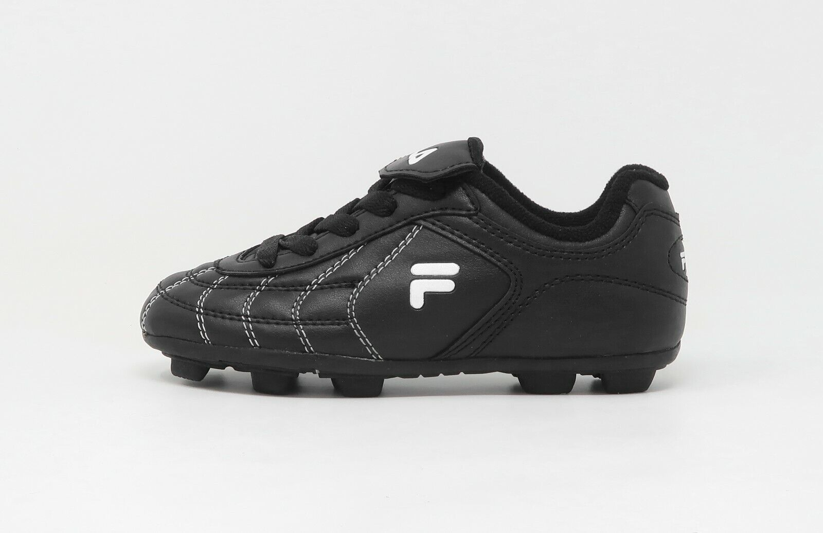 Fila Youths Girls Boys Soccer Shoes Cleats Black Synthetic L
