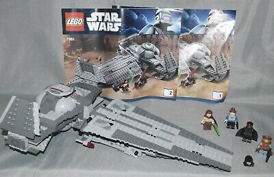 Lego Star Wars 7961 Darth Maul's Sith Infiltrator w/ Minifigures & Instructions