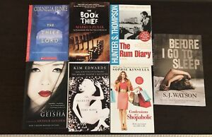Paperback books for sale - MINT condition