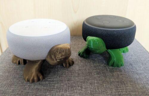 Tortoise / Turtle Holder for Amazon Echo Dot 3rd Gen / Alexa - Stand Mount