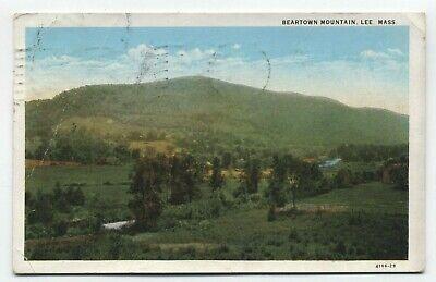 MA ~ Beartown Mountain LEE Massachusetts 1930 Berkshires Lost Ski Area (Lee Massachusetts)