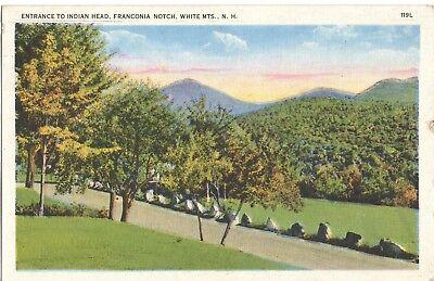 Vintage Postcard   Franconia Notch, White Mountains, New Hampshire