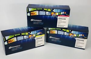 Dataproducts toner cartridges CE410X CE412A CE413A
