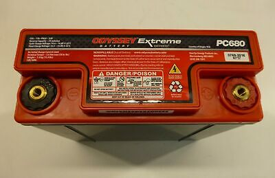 12v 16ah Odyssey Extreme Pc680 Drycell Battery