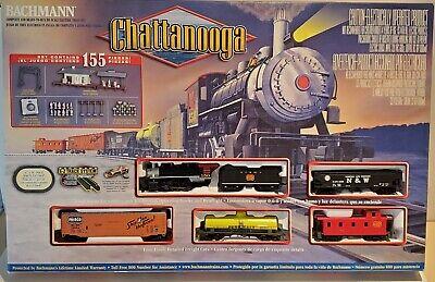 Bachmann Chattanooga HO Gauge Electric Train Set with Smoke & Headlight