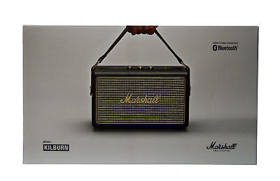 Marshall Kilburn 30 Watt Portable Bluetooth Speaker W Aux Port In Black 04091189