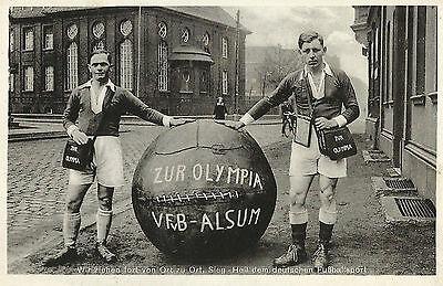 Mit dem Fußball zur Olympia, VFB Alsum bei Hamborn, Olympische Spiele 1936
