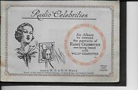 Will's - Radio Celebrities, A Series - Full Set In Album - 1934 - wills - ebay.co.uk