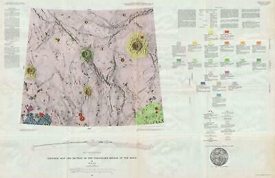 1965 USGS Geologic Map of the Moon: Timocharis Region