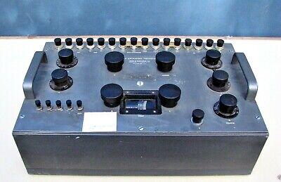 Vintage Leeds Northrup Type K3 Universal Potentiometergalvanometer No. 7553