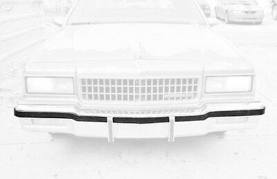 Bumper Impact Strip - Chevrolet Caprice Pontiac Safari Front Bumper Impact Rub Strip Cushion 7037-050