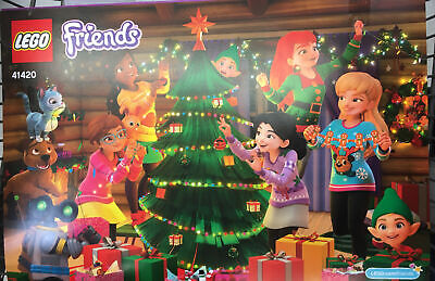 ✳️ LEGO Friends Advent Calendar 41420 Playset Toy Gift Christmas Countdown 2020