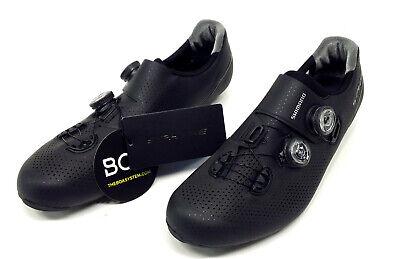 US 10.5 Wide Width SH-RP400 Shimano RP4 Road Bike Cycling Shoes Boa Black 45E