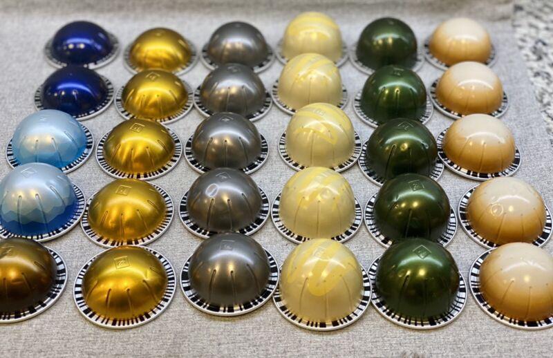 30 Nespresso Vertuo Coffee Espresso Capsules Variety