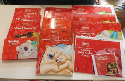 SRA Reading Mastery Signature Edition Complete Box Set Grade K