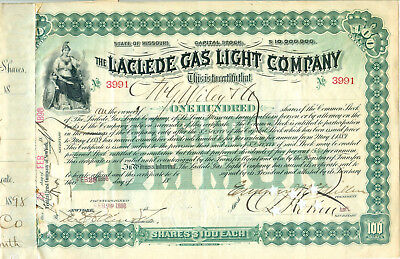 The Laclede Gas Light Company 1898