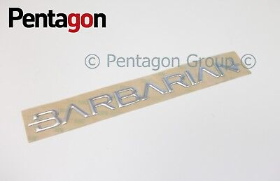 Genuine New MITSUBISHI Barbarian O//S Right Door Décalque Emblème l200 2006-2012