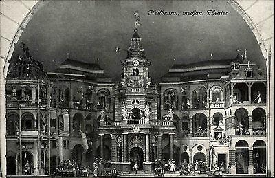 Hellbrunn Österreich Salzburg ~1920/30 Mechanisches Theater Maschine Marionetten