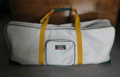 L.L. Bean Croquet Travel 6-Player Complete Set with Storage Carrying Tote Bag