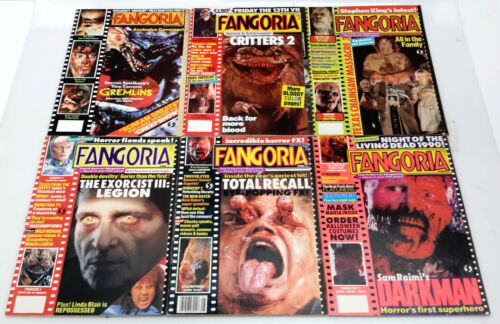Original FANGORIA Magazine Collection- Your Choice of 100 Issues