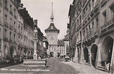 AKBern. Zeitglockenturm mit Zähringerbrunnen