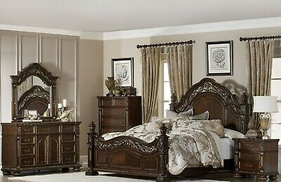 """HOMELEGANCE """"Catalonia"""" 6 Piece Queen Bedroom Set - FREE Delivery & Home Setup"""