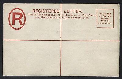 1887 Gibraltar QV Registered Postal Stationery Envelope – H&G #C3a – Mint