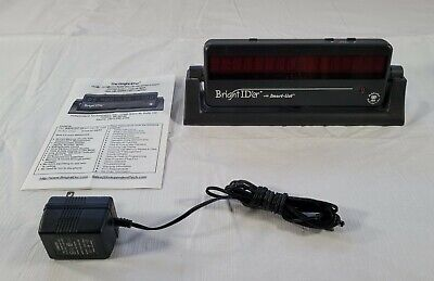 Bright ID'er Caller ID Display Model 6700 with Manual and AC Adapter