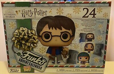 2020 Funko Harry Potter Christmas Advent Calendar 24 Pocket Pop Figures NEW!