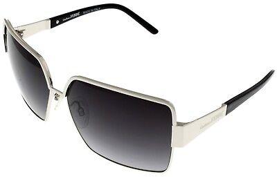 Gianfranco Ferre Sunglasses Women Pearl Anthracite Tips Rectangular GF915 01