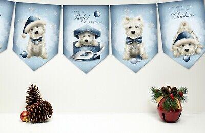Christmas Bunting/Banner & Ribbon  (Ribbon Banner)