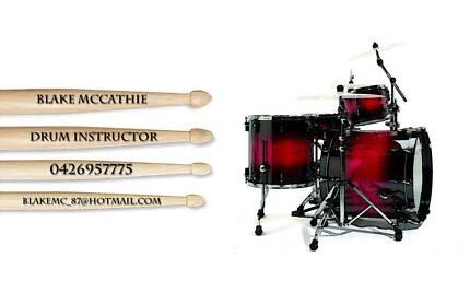 The Mobile Drum Tutor Newcastle 2300 Newcastle Area Preview