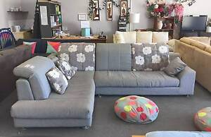 DELIVERY TODAY LUXURIOUS MODERN BEAUTIFUL BIG GREY L corner couch Belmont Belmont Area Preview